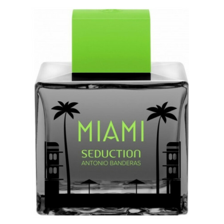 Miami Seduction In Black, парфюмерия для мужчин от Antonio Banderas