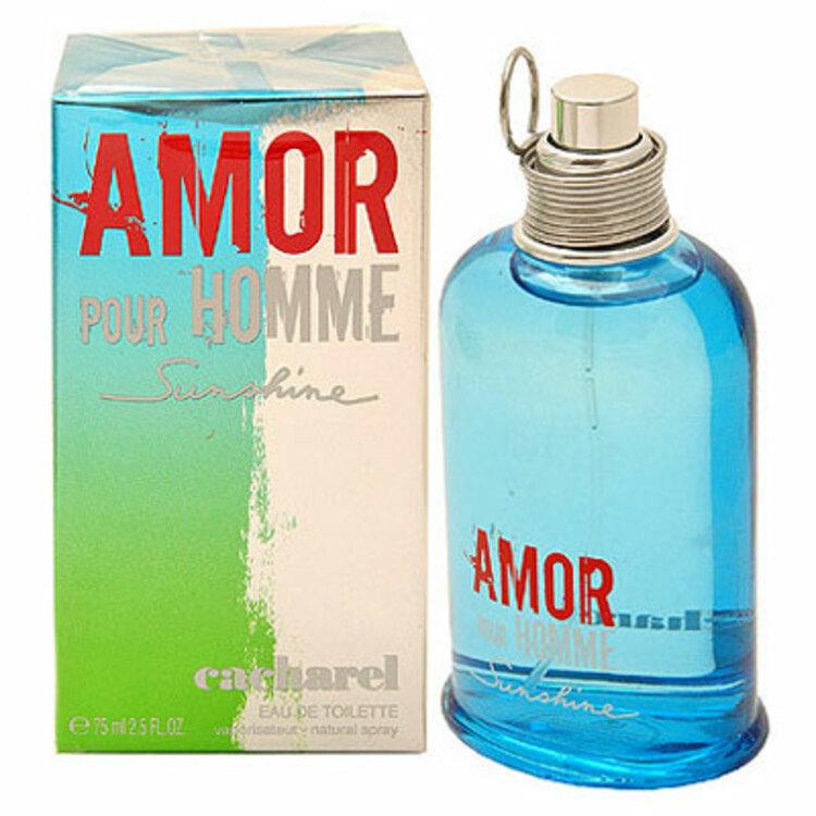 Amor Sunshine, парфюмерия для мужчин от Cacharel