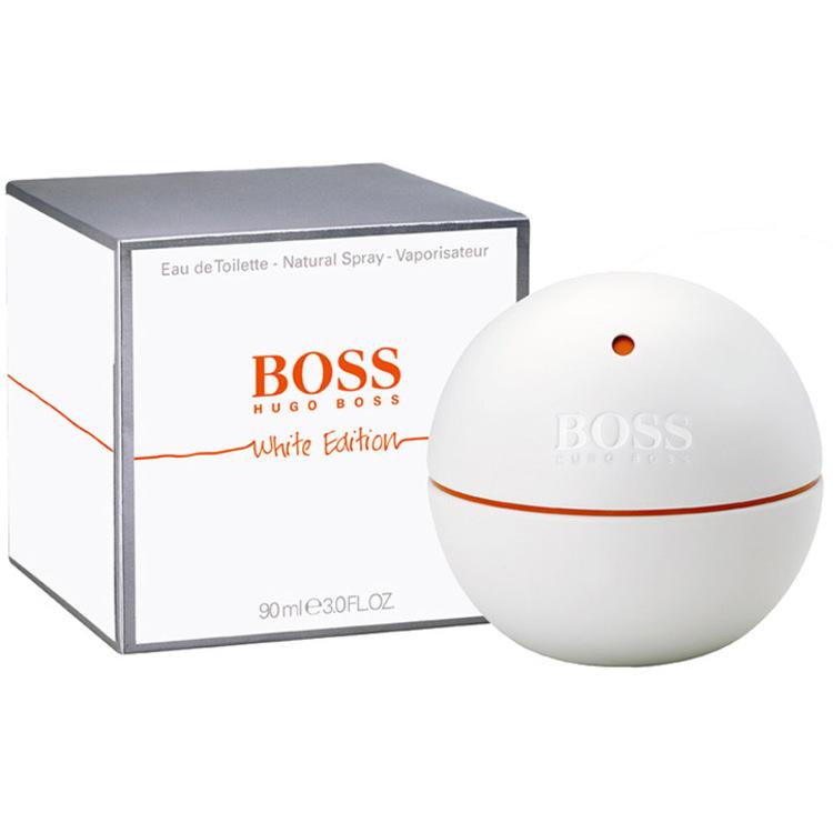 in Motion White, парфюмерия для мужчин от Hugo Boss