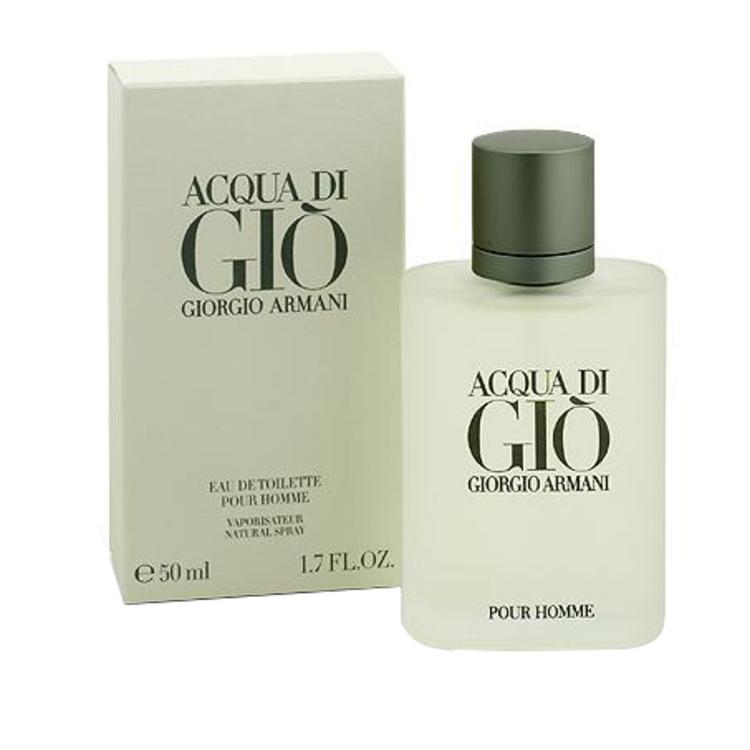 Acqua Di Gio, парфюмерия для мужчин от Giorgio Armani