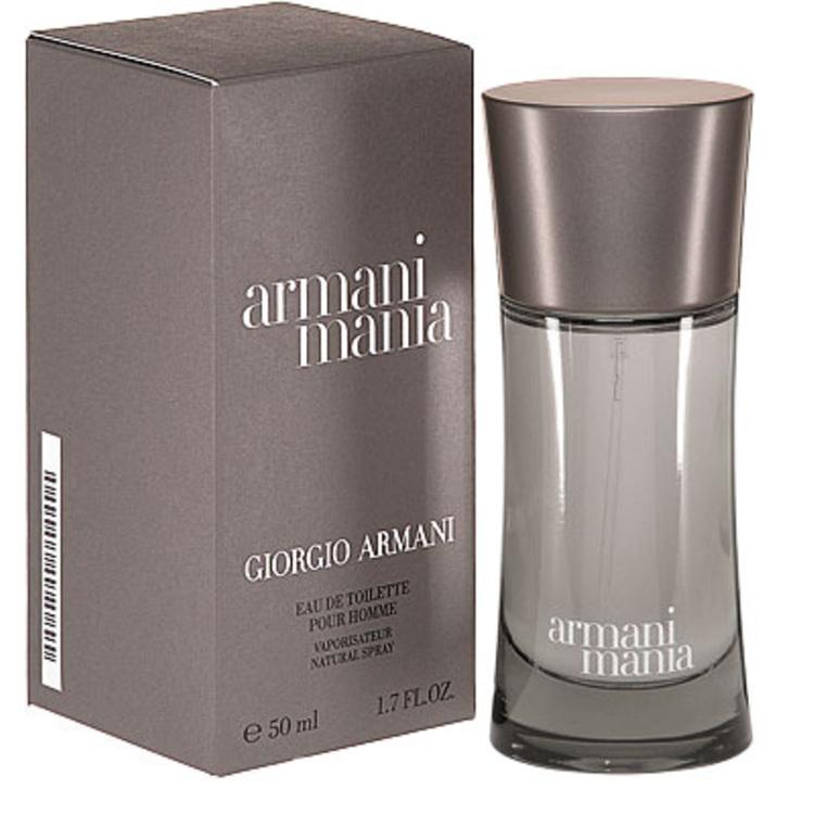 Armani Mania, парфюмерия для мужчин от Giorgio Armani