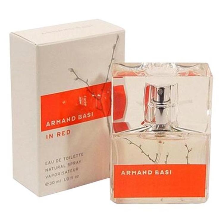 In Red, парфюмерия для женщин от Armand Basi