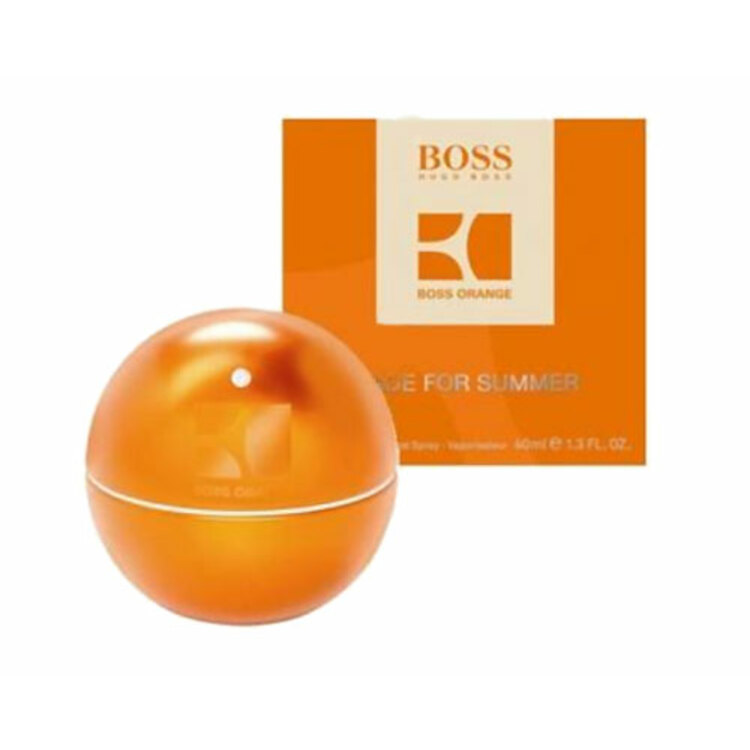 Boss In Motion Orange Made for Summer, парфюмерия для мужчин от Hugo Boss