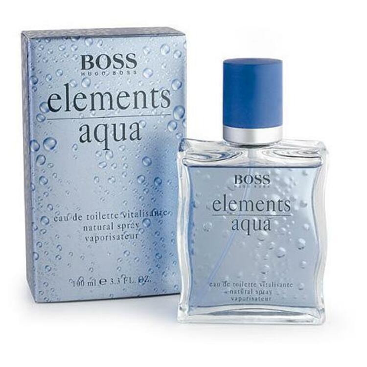 Boss Elements Aqua, парфюмерия для мужчин от Hugo Boss